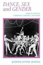 DANCE, SEX, AND GENDER - HANNA, JUDITH - NEW PAPERBACK BOOK