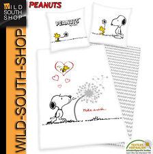 Peanuts Wendemotiv Bettwäsche 135x200cm Linon Baumwolle Herding