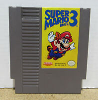 Super Mario Brothers 3 Nintendo Entertainment System NES Video Game Cartridge