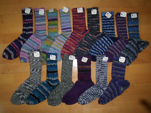 Handgestrickte warme Socken