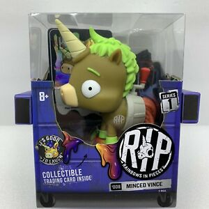 Rainbows In Pieces Minced Vince #008 Series 1 Zombie Unicorn w/ Trading Card