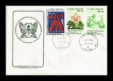 Dr Jim Stamps Boy Scouts Fdc Sao Tome And Principe European Size Cover