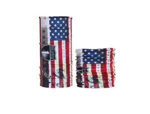 Highway1 Halstuch Multifunktionstuch US-Flagge Schlauchtuch Biker Harley Bandana
