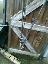 mantis tiller 2 stroke folding handles with all controls and cables etc