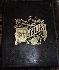 1891 big leather book PORTRAIT &  BIOGRAPHICAL ALBUM OF OAKLAND COUNTY, MICHIGAN