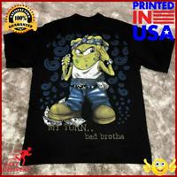 Hiphop SpongeBob t Shirt Gangster Rap T Shirt