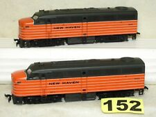 SET OF TWO FRATESCHI HO NEW HAVEN DIESEL LOCOMOTIVE IN EXCELLENT READY TO RUN