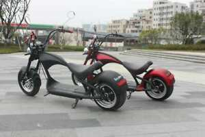 New Scooter E-scooter Street legal with big wheels 2000W 40km 45km/h M1