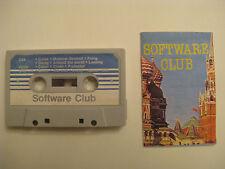 SOFTWARE CLUB SPIELE MC h C64 C128 VC20 C16/ +4 Philips MSX Sinclair ZX Spectrum