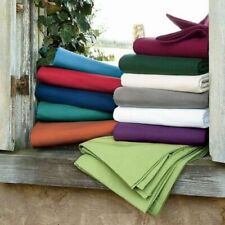 6Pc Bed Sheet Set 1000 TC 100% Egyptian Cotton All Solid Color & Size