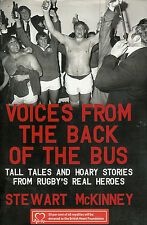 Voices from the Back of the Bus by Stewart McKinney (Ireland) RUGBY BOOK
