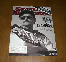 2001 SPORTS ILLUSTRATED - DALE EARNHARDT SR. - DEATH OF A CHAMPION