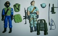 Gi Joe Black Major custom Starduster and Gold Head Steel Brigade rare