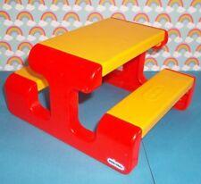 Little Tikes Dollhouse Vintage Picnic Table FUN Fisher Price