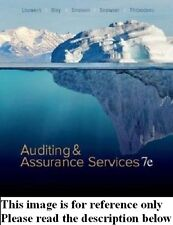 Auditing & Assurance Services 7th NEW Int'l Ed.US Delivery 3-4 bus day/Insurance