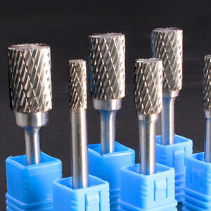 5 * Rotary Burrs Tungsten Carbide Burr Rotary Drill Bits Tools Cutter Files Set