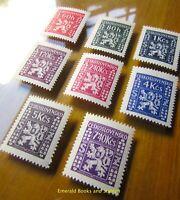 EBS Czechoslovakia 1947 - Official Stamps - Úřední známky - Michel  D8-15 MNH**