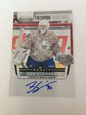 2011-12 Certified Ben Scrivens AU RC #174 Edmonton Oilers goalie