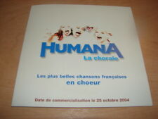 HUMANA - PRESS PACK PLUS BELLES CHANSONS FRANCAISES !!!