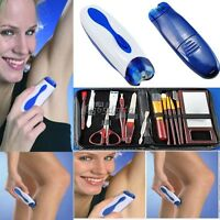ELECTRIC TWIZZE WIZZIT TWEEZERS HAIR REMOVER REMOVAL EPILATOR FOR MEN WOMEN 35DI