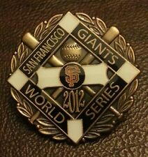SAN FRANCISCO GIANTS 2012 WORLD SERIES CHAMPIONS LAPEL PIN 5a