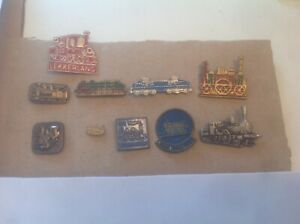 10 Badges Trains