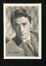Film Theatre GREGORY PECK Plain Back Card 127x87mm