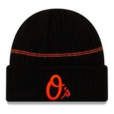 New Era MLB Baltimore Orioles Cuff Sport Knit Beanie Fleece Lined Winter Hat