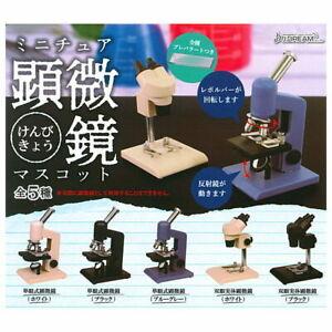 J Dream Toys Capsule Gashapon Mini Microscope Laboratory Full Set 5 pieces