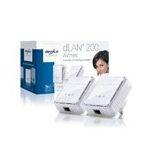 Devolo dLAN 200 AVmini Starter Kit 2 X Adaptadores Homeplug AV