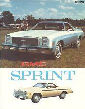 1977 GMC Sprint Brochure - Mint!