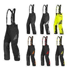 FXR Clutch FX Pant Bib HydrX Coated Shell F.A.S.T Thermal Flex Insulation Combo