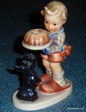 """Begging His Share"" Goebel Hummel Figurine #9 TMK3 Dog Begging For Cake - GIFT!"
