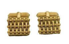 Tiffany & Co. 18K Yellow Gold 23.19 grams Cufflinks