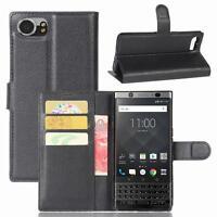 Blackberry Keyone Custodia a Portafoglio Protettiva wallet case cover