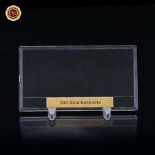 WR Gifts Money Holder USA Dollar Bank Note Size Display Frame for collection