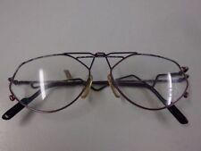 Ovale Vintage-Brillen aus Metall mit Original