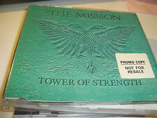 RAR MAXI CD. THE MISSION. TOWER OF STRENGHT. PROMO. 3 TRACKS