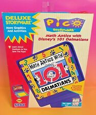 Math Antics With Disney's 101 Dalmatians - SEGA PICO - BRAND NEW nib