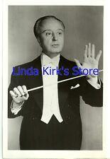 "Howard Barlow 4-1/2"" x 7"" Photograph Conductor ""Voice Of Firestone"" ABC-TV 1957"