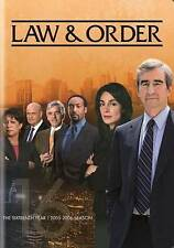 Law & Order: The Sixteenth Year New DVD- FREE SHIPPING!