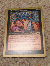 MTG Magic the Gathering RECURRING NIGHTMARE GB  Mint condition Many available