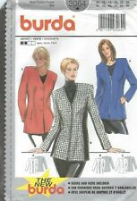 burda 3064 Misses' Jacket 10 to 20 *Extremely Rare*   Sewing Pattern