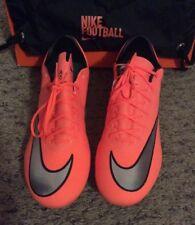 Nike Mercurial Vapor X FG Soccer Cleats Shoes Mango Hyper 648553 803 sz 10