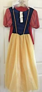 NWT Disney Store SNOW WHITE Small Adult Princess Halloween Costume USA Made