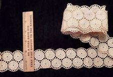 Vintage/Antique 2 3/4 Yards Cotton Lace