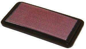 K&N Hi-Flow Performance Air Filter 33-2030 fits Toyota Corolla 1.6 (AE92), 1....