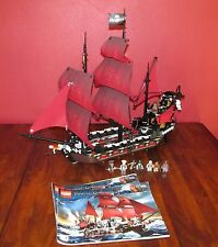 LEGO PIRATES OF THE CARIBBEAN 4195 QUEEN ANNE'S REVENGE SHIP  100% COMPLETE