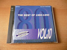 Doppel CD The Best of 1980 - 1990 Vol. 10 // 34 Songs - Rare
