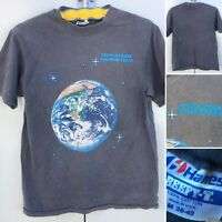 Vintage Crew Member Spaceship Earth T-Shirt Made In USA M 38-40